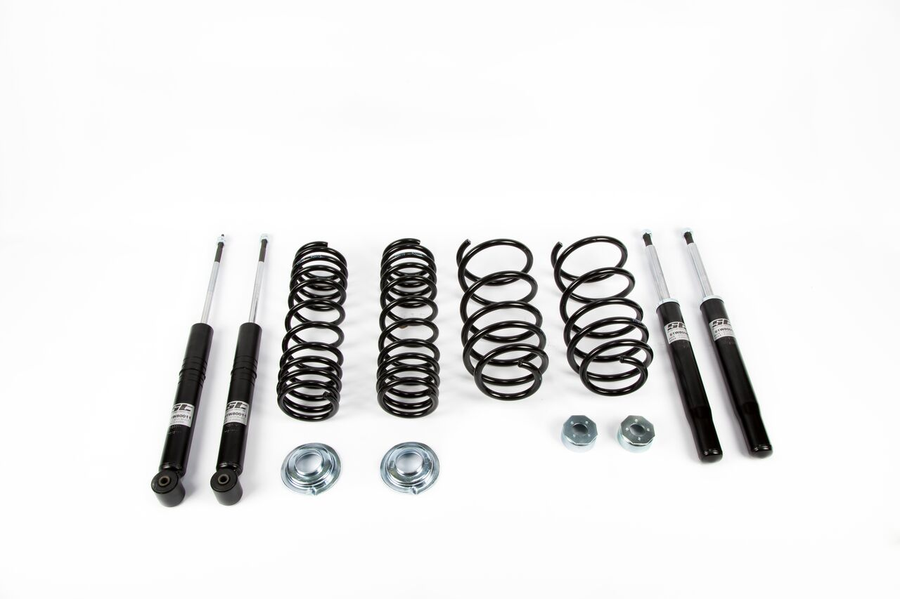 Golf1 classic tuning suspension ST Suspensions Diversifies Range With ST Classic Suspension Kit For Mk1 Golf