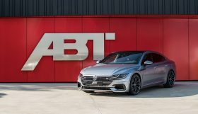 ABT VW Arteon front diagonal 280x161 VW Arteon with 336 hp and 420 Nm