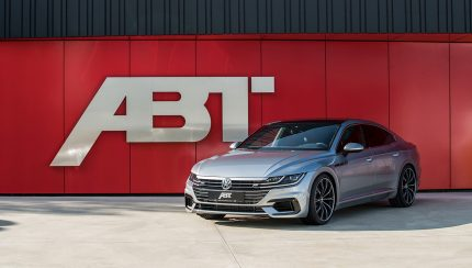 ABT VW Arteon front diagonal 430x244 VW Arteon with 336 hp and 420 Nm