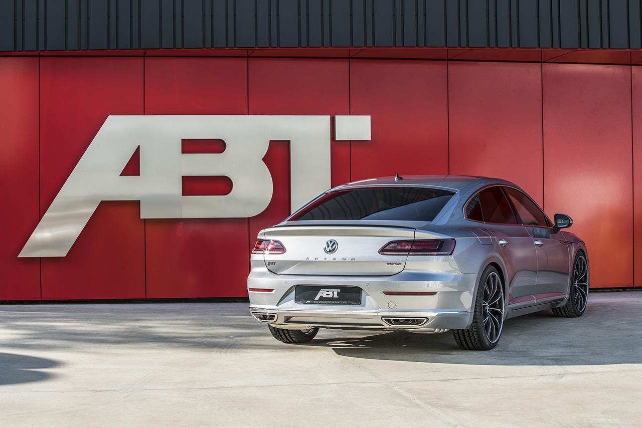 ABT VW Arteon rear diagonal VW Arteon with 336 hp and 420 Nm