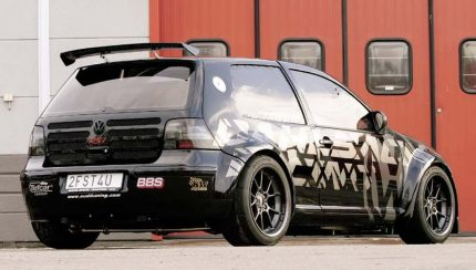vw golf dahlback 430x244 Apprehended modified car