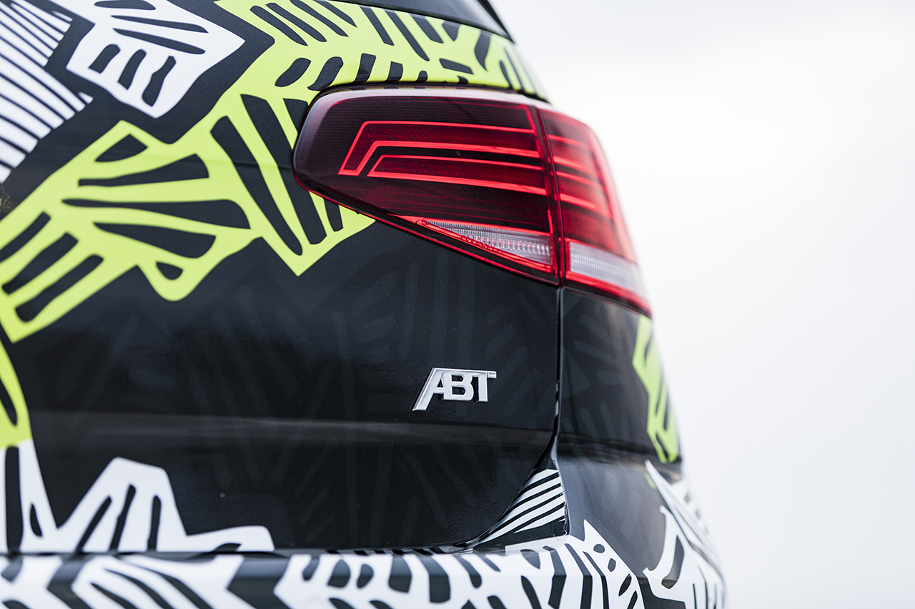 "06 ABT 2018 Golf R Abstract concept taillight VW Golf R modified by ABT part of ""2018 Volkswagen Enthusiast Vehicle Fleet"""