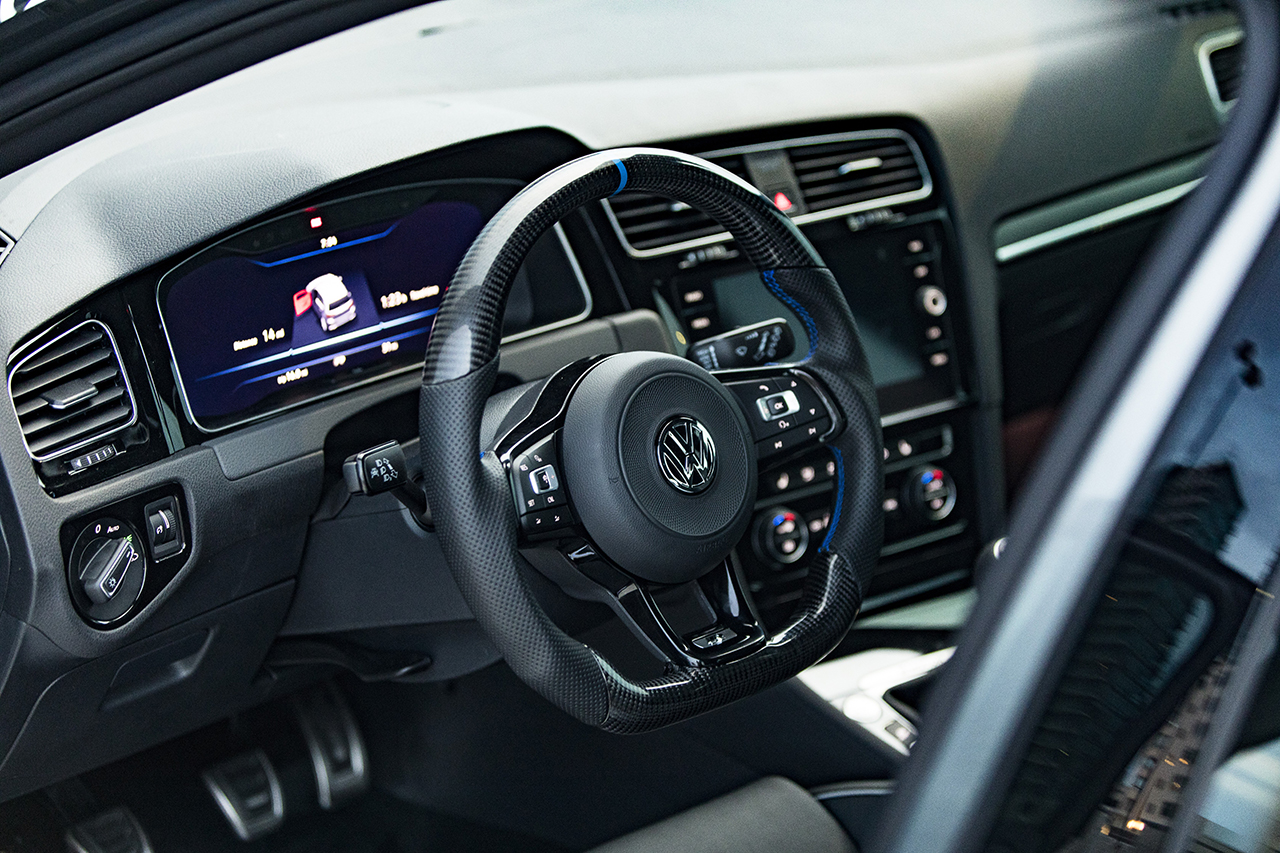 "08 ABT 2018 Golf R Abstract concept cockpit VW Golf R modified by ABT part of ""2018 Volkswagen Enthusiast Vehicle Fleet"""